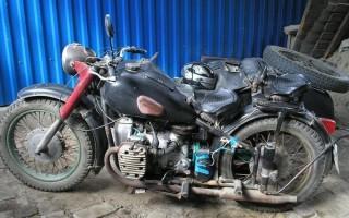Мотоцикл Урал ростовская