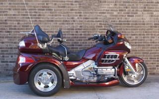 Honda goldwing GL 1800 motor trike цена