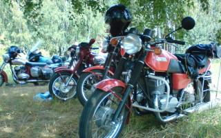 Мотоцикл Урал псков