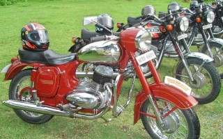 Мотоциклы Ява история моделей
