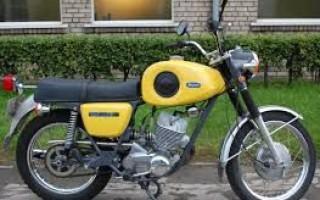 Характеристика Мотоцикла иж Планета спорт