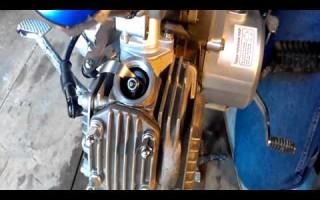 Регулировка клапанов на 200 кубовом китайском Мотоцикле