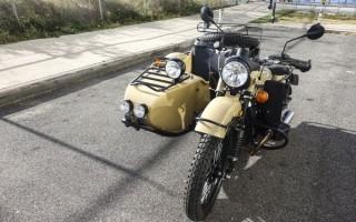 Мотоцикл Урал чихает