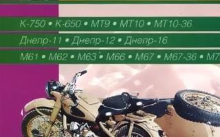 Книжка Мотоцикл Урал