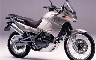 KAWASAKI KLE400, описание модели