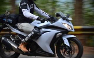 Kawasaki Ninja 300 белый