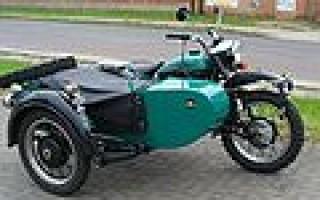Как выглядит Мотоцикл Урал