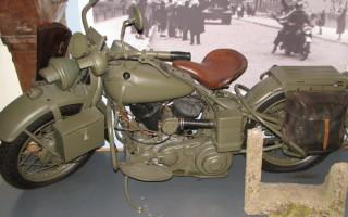 Мотоцикл бмв с коляской 1941 1945