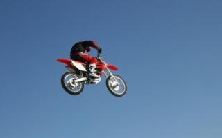 Приемы вождения кроссового Мотоцикла