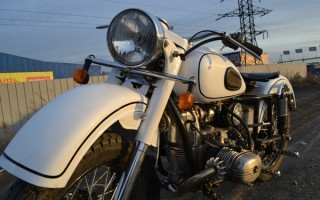 Хромированный Мотоцикл Урал