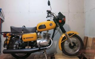 Мотоцикл восход 3 м 01