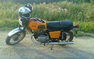 Мотоцикл иж Планета донецкая область