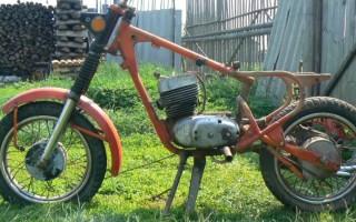 Сборка Мотоцикла восход 3м