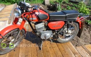 Мотоцикл Минск ммвз 115