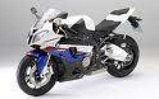 Мотоцикл БМВ rr
