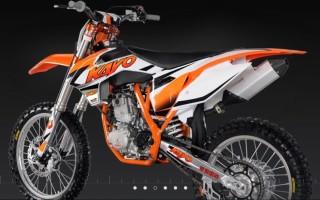 Кроссовый мотоцикл кайо 250