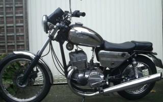 Переделка Мотоцикла Ява