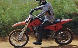 На кроссовом мотоцикле можно ездить без прав