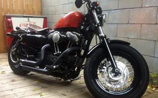 Harley Davidson бак