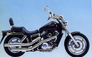 Мотоцикл honda shadow 1100