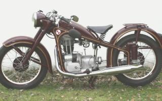 Мотоцикл БМВ 35