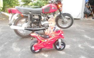 Строение Мотоцикла Минск