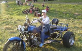 Урал Мотоцикл трицикл самодельный