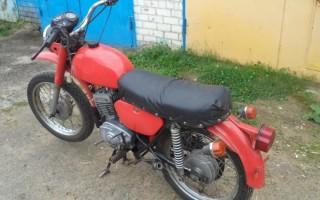 Мотоцикл Минск 80 годов