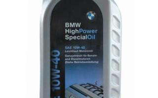 Масло для мотоцикла BMW