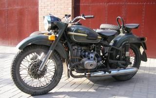 Советский Мотоцикл Урал