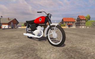 Yamaha кроссовый мотоцикл