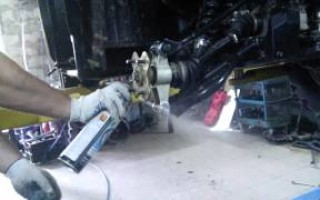 квадроцикла Хонда трх680 демонтаж датчик холла