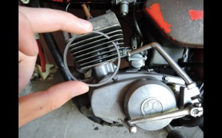 Мотоцикл Минск плохо заводится