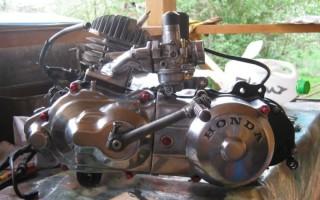 двигатель на Скутер Honda dio