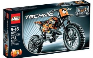 Лего техника Кроссовый Мотоцикл