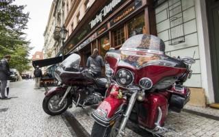Harley Davidson прага