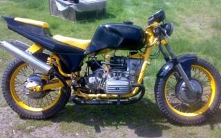 Тюнинг Мотоцикла днепр 11