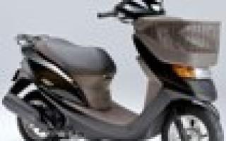 Скутер Honda dio cesta