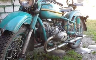 Мотоцикл Урал 650