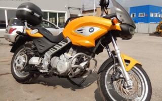 Мотоцикл БМВ с пробегом