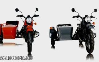 Технические характеристики мотоцикла урал с коляской