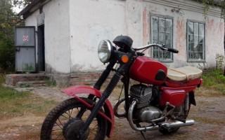 Толщина задней оси Мотоцикла восход 3 м