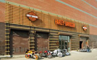 Harley Davidson салоны