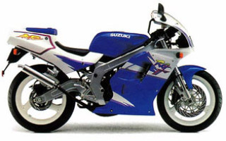 SUZUKI RG125, описание модели
