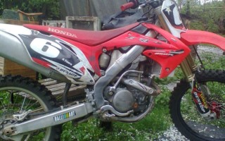 Смена масла кроссового Мотоцикла хонда crf250r