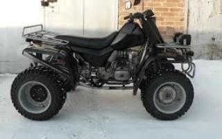 Квадроцикл из Мотоцикла днепр