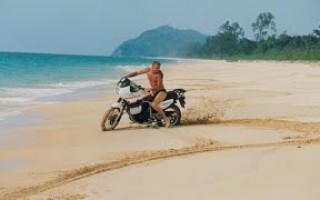 Путешествие на китайском Мотоцикле