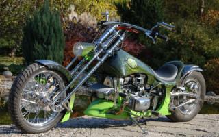 Мотоциклы днепр чоппер