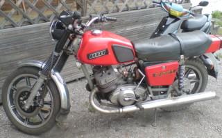 Мотоцикл иж ю 4к