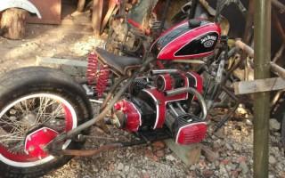 Крылья на Мотоцикл днепр